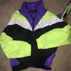 NWOT forever 21 windbreaker jacket